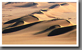 Sand dunes south of Al Kufra oasis